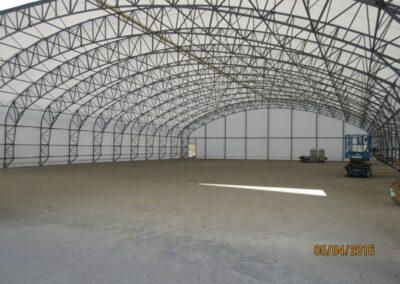Konstrukce haly
