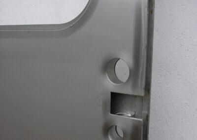 Dveře vagonu, detail